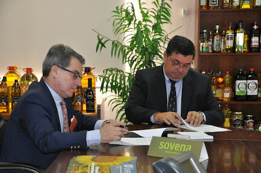 Renovación convenio de colaboración con la empresa Sovena