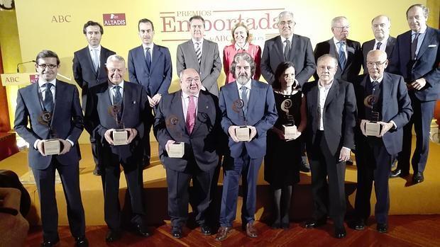 Gómez de Terreros premiado por ABCdesevilla.es por su dedicación a la infancia