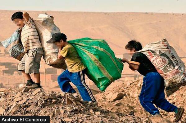Perú, el país sudamericano con más niños trabajadores