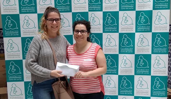 Recibimos un donativo de alumnos del IES Néstor Almendros